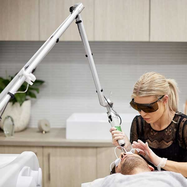 Our expert technicians using the Discovery Pico Laser