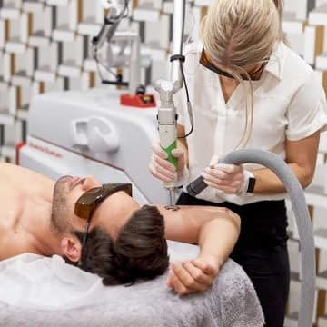Tattoo Removal with the Discovery Pico Laser